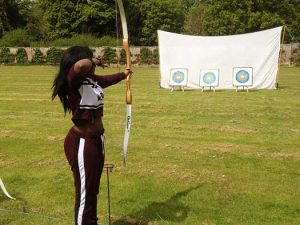 archery games hire