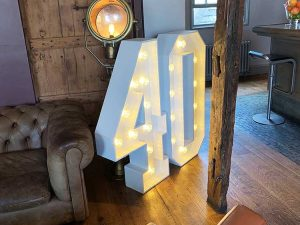 Hire led letters and numbers Essex