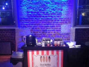 Rent a Stick waffle stand