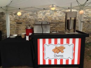 churros stand hire and mobile catering