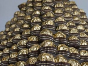 Ferrero Rocher Pyramid Hire