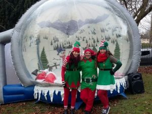 Inflatable-snow-globe-hire-Christmas-fair-event