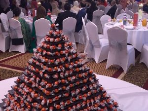 Ferrero Rocher Pyramid Stand