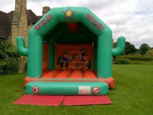 Wild West bouncy castle hire gravesend