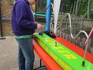 giant buzzwire tabletop