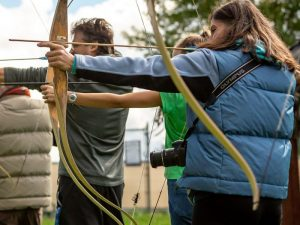 Archery hire for festival