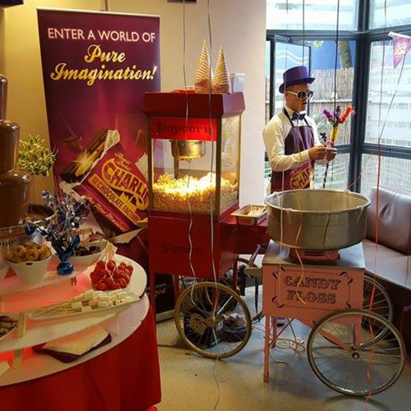 Candyfloss machine hire exhibition event