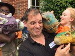 Dinosaur event hire kent