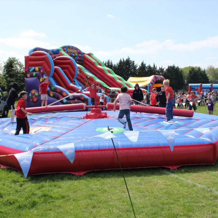 Inflatable games hire fetes and fairs
