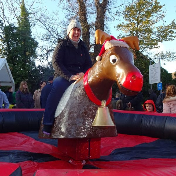 Christmas-rodeo-hire-reindeer-bronco