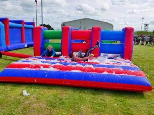 Foam-inflatable-hurdles-hire-kent