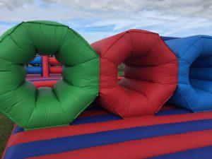 Inflatable barrel crawl hire essex