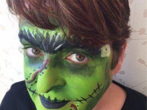 Halloween party face painter kent