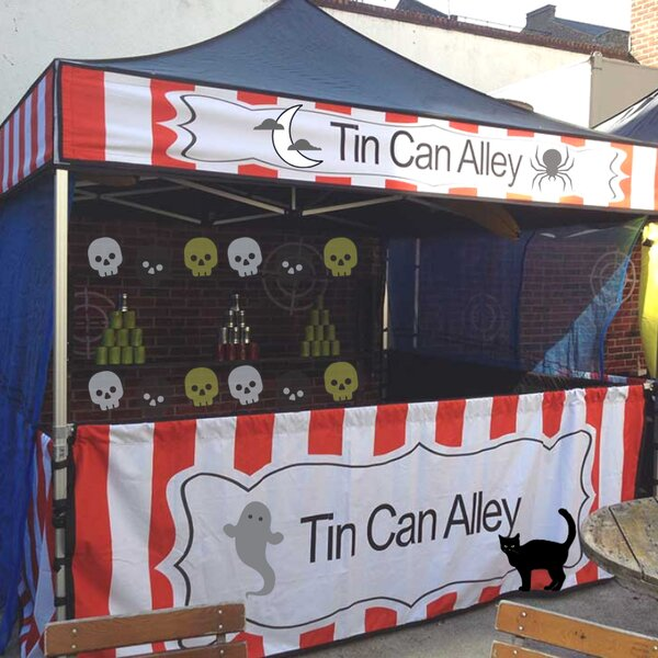 Halloween party hire tin can alley