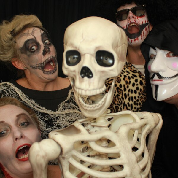 Halloween party photo booth hire
