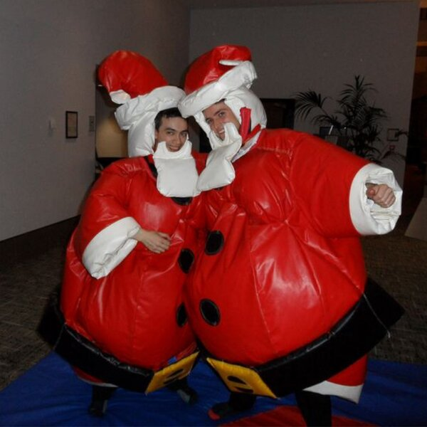Santa suit for hire (Santa sumo)