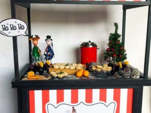 Mince pies mulled wine hire kent