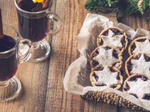 mulled wine and mince pies catering