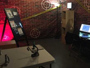 mobile escape room for corporate event