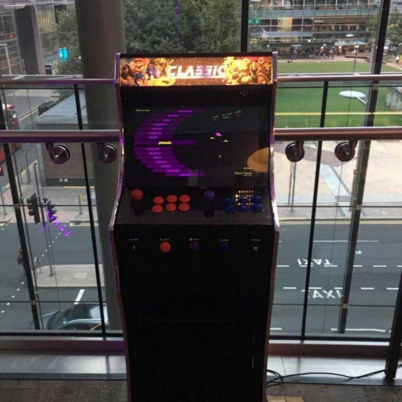 Retro arcade game hire kent