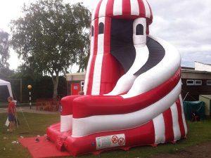 inflatable-funfair-helter-skelter-slide-hire