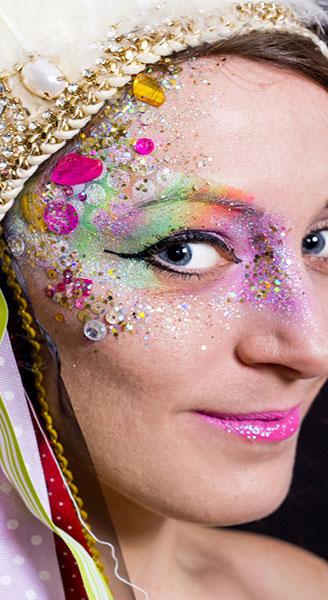glitter-face-paint