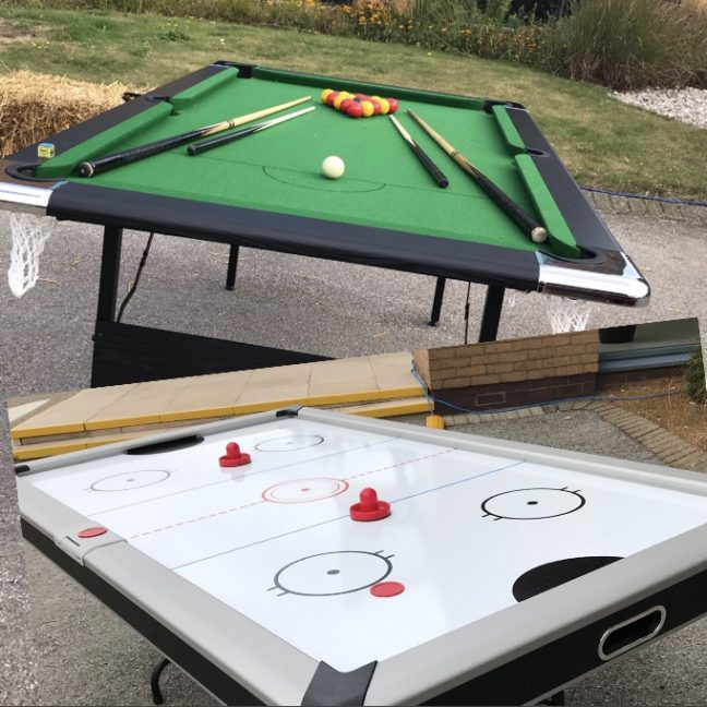 Air hockey hire Surrey