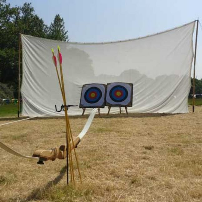 archery games hire