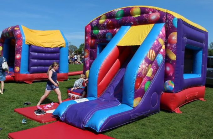 Bouncy castle hire for private parties