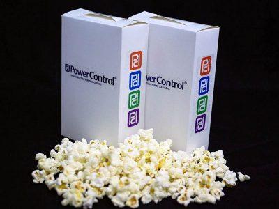 Branded popcorn box