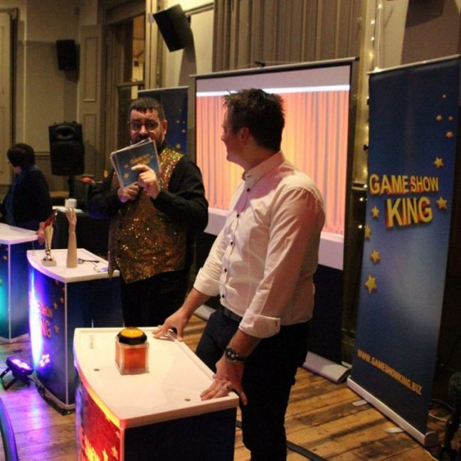 Branded game show hire