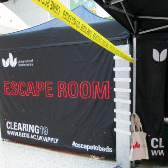 Branded mobile escape room hire