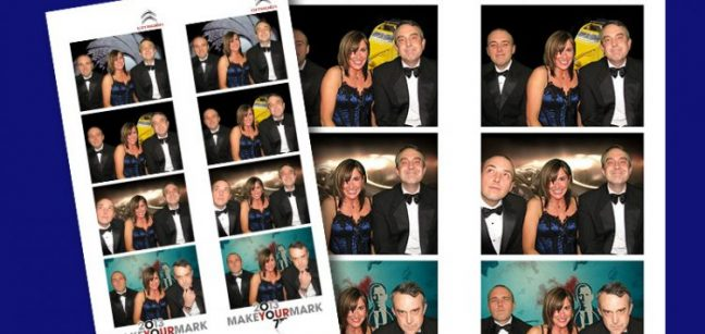 Branded photo booth rent kent