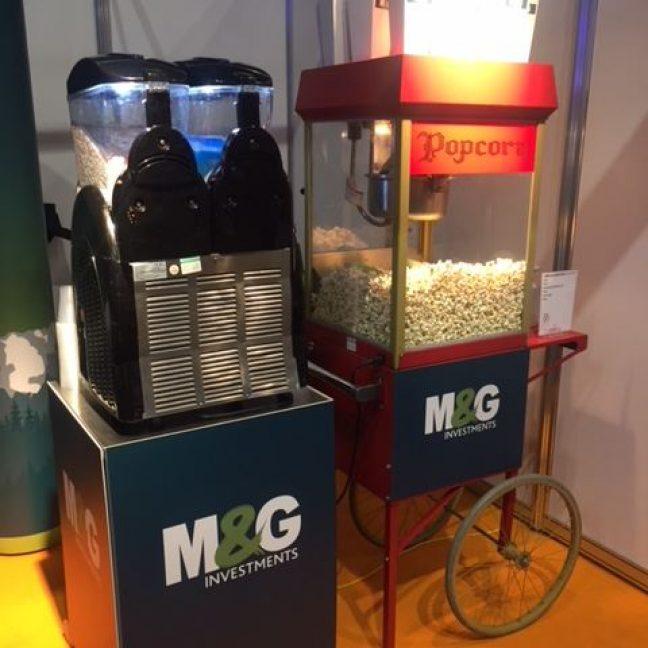 Branded slush and popcorn stands LK