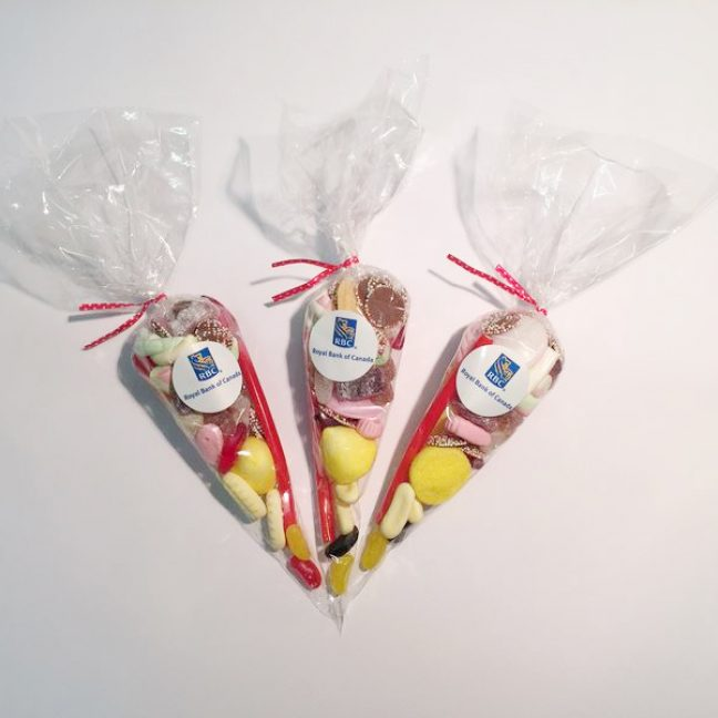 Branded sweetie cones LK