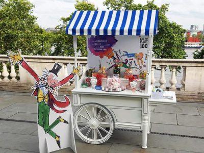 Branded vintage sweet cart hire