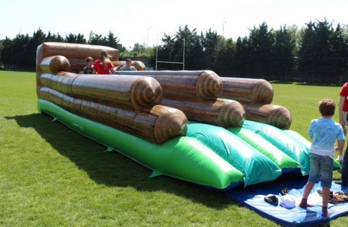Bungee run inflatable hire london