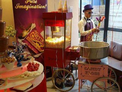Candyfloss machine hire exhibition event