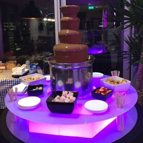 Chocolate fountain hire Kent Leisure King