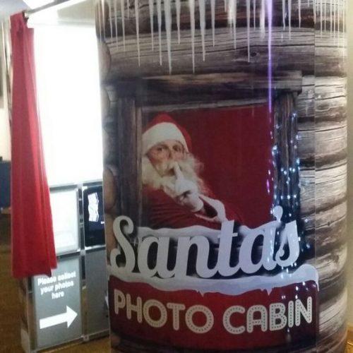 Christmas Photo Booth Santa Shack Hire