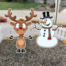 Christmas party game hire ring toss