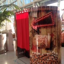 Christmas photobooth hire