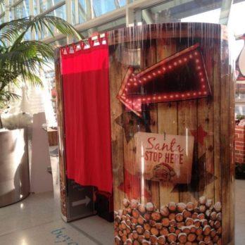 Christmas photobooth hire