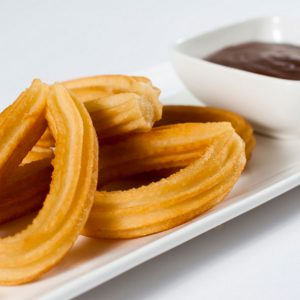 Churros Fried and fresh