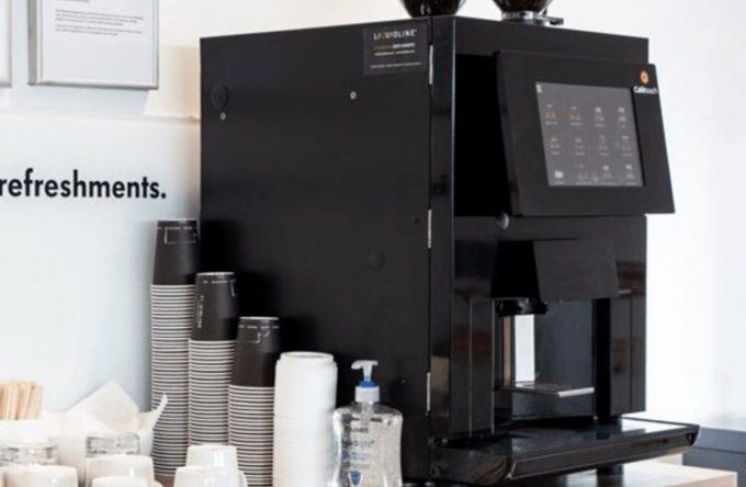 Coffee machine hire kent