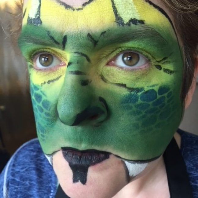Face painting hire kent