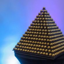 Ferrero Rocher Pyramid Rent
