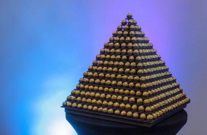 Ferrero Rocher Pyramid Rent