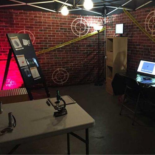 Halloween party escape room