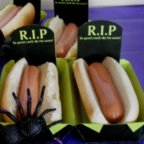 Halloween party food catering kent